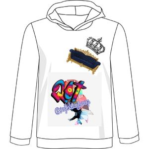 Sofa King (w3t) Lo0p womens pull-over hoody